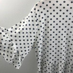 Boohoo Plus Dresses - Boohoo Plus NWT Stretchy Polka Dot Dress